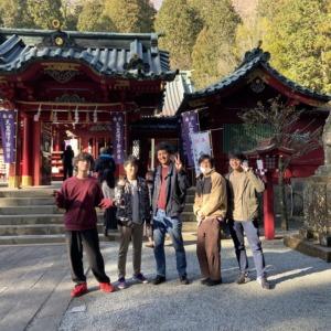 【VLOG】第一弾AIC旅行 箱根に男5人旅
